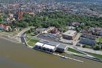 Panorama przystani Włocławskiego Towarzystwa Wioślarskiego