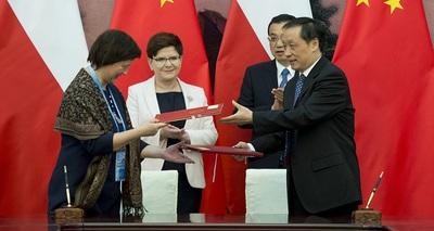 Umowa o współpracy z Chinami