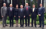 The Polish delegation in Lausanne photo