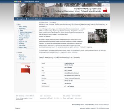 Biuletyn Informacji Publicznej Medycznej Szkoły Policealnej w Otwocku