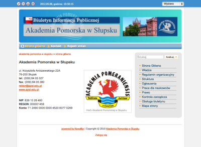 BIP Akademii Pomorskiej w Słupsku
