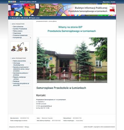 Przedszkole Samorządowe w Łomiankach
