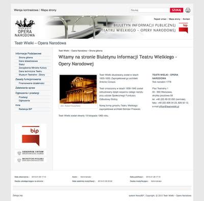 Teatr Wielki – Opera Narodowa
