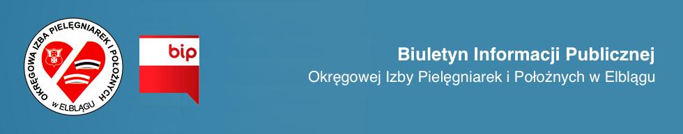 BIP Okręgowej Izby Pielęgniarek i Położnych w Elblągu