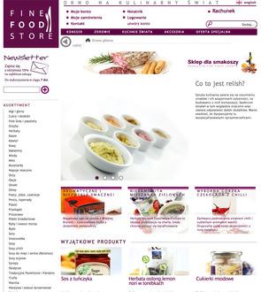 Fine Food Store - Delikatesy internetowe