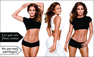 J.Lo your new fitness trainer. Are you ready?
