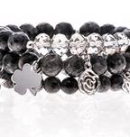 Dark Stone Bracelets| Wendy Simply You